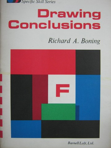 Specific Skill Series Drawing Conclusions Book F (P) by Boning