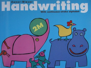 Handwriting with Continuous-Stroke Alphabet 2M (P) by Hackney,