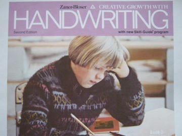 Creative Growth with Handwriting 2nd Edition Book 3 (P) by Barbe
