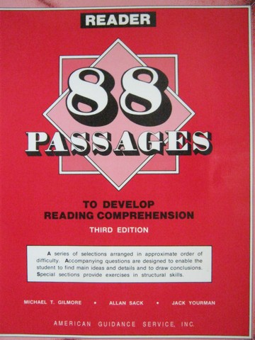 88 Passages to Develop Reading Comprehension 3rd Edition (P)