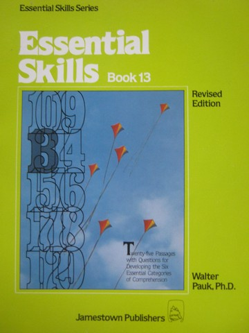 Essential Skills Series Essential Skills Book 13 Revised (P)