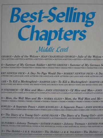 Best Selling Chapters Middle Level (H) by Raymond Harris