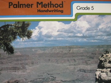 Palmer Method Handwriting Centennial Edition 5 (P) by King