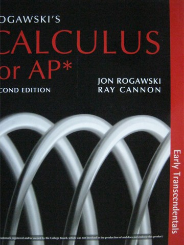 Calculus for AP Early Transcendentals 2nd Edition (H)