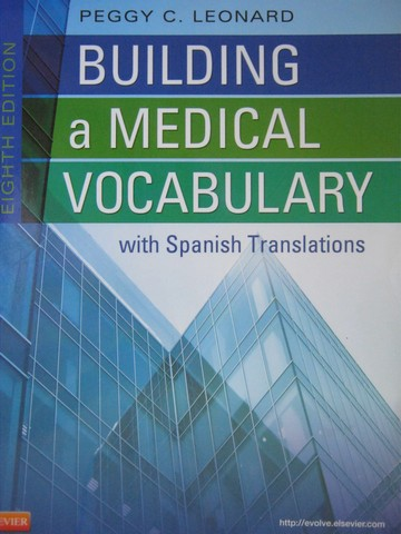 Building a Medical Vocabulary with Spanish Translations 8e (P) - Click Image to Close