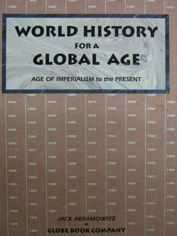 World History for A Global Age Book 2 (P) by Abramowitz