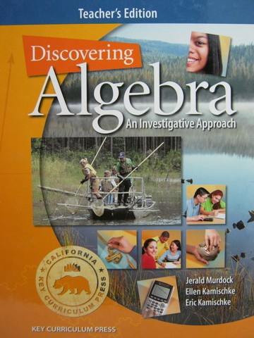 Discovering Algebra 2nd Edition TE (CA)(TE)(H) by Murdock,