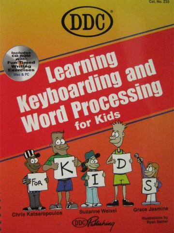 Learning Keyboarding & Word Processing for Kids (Spiral)