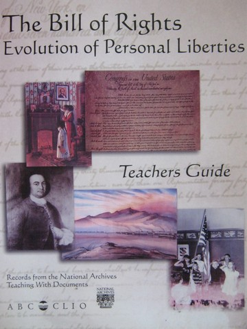 Bill of Rights Evolution of Personal Liberties TG (TE)(P)