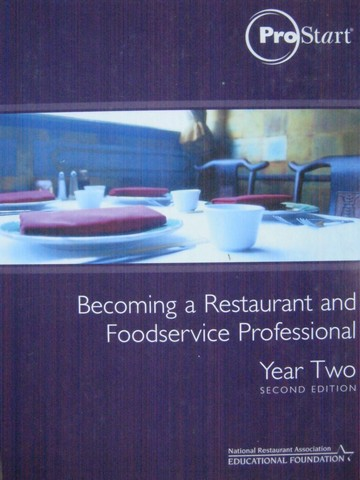 Prostart Becoming a Restaurant & Foodservice Year 2 2e (H)