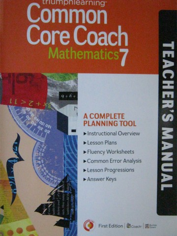 Common Core Coach Mathematics 7 TM (TE)(P)