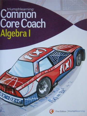Common Core Coach Algebra 1 (P)
