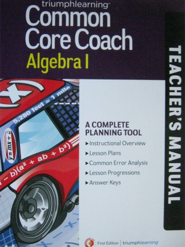 Common Core Coach Algebra 1 TM (TE)(P)