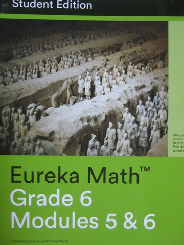 Eureka Math 6 Modules 5&6 Student Edition (P)