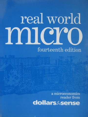 Real World Micro 14th Edition (P) by Fireside, Rao, & Sturr