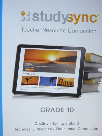 Studysync 10 Teacher Resource Companion (TE)(Spiral)
