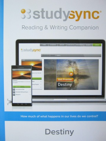Studysync 10.1 Reading & Writing Companion (P)