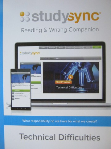 Studysync 10.3 Reading & Writing Companion (P)
