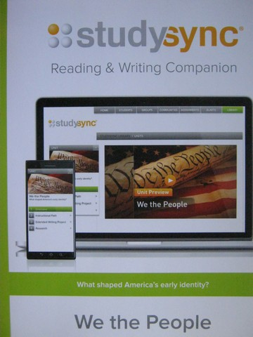 Studysync 11.1 Reading & Writing Companion (P)