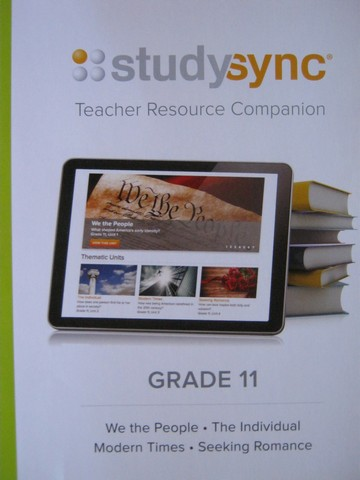 Studysync 11 Teacher Resource Companion (TE)(Spiral)