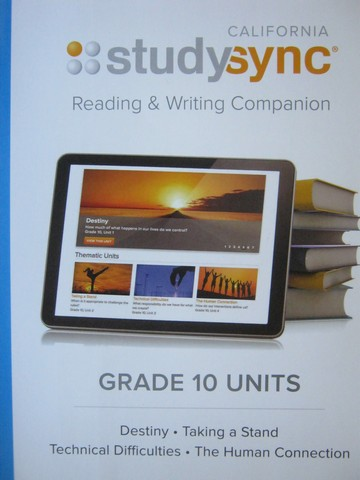 Studysync 10 Reading & Writing Companion (CA)(P)
