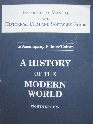 A History of the Modern World 8th Edition IM (TE)(P) by Jensen