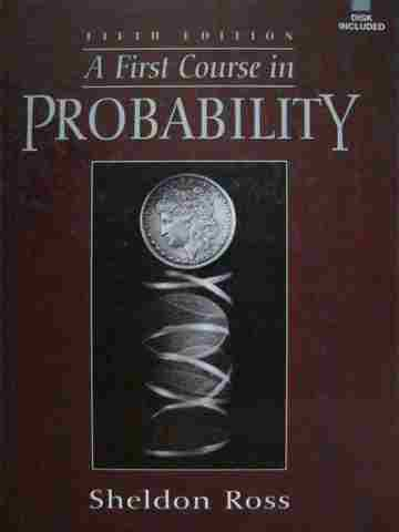 A 1st Course in Probability 5th Edition (H) by Sheldon Ross