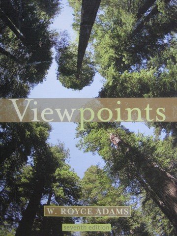 Viewpoints 7th Edition (P) by W Royce Adams - Click Image to Close
