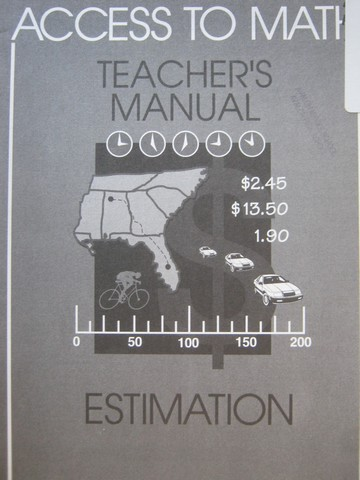 Access to Math Estimation TM (TE)(P) by Barbara Levadi