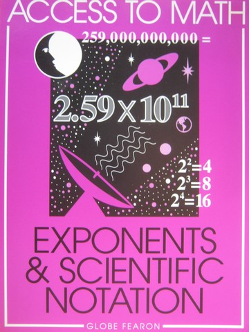 Access to Math Exponents & Scientific Notation (P) by Levadi