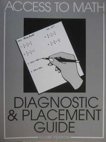 Access to Math Diagnostic & Placement Guide (P) by Levadi