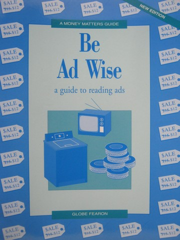 A Money Matters Guide Be Ad Wise (P) by Jack Canario