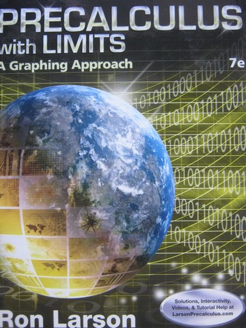 Precalculus with Limits A Graphing Approach 7th Edition (H