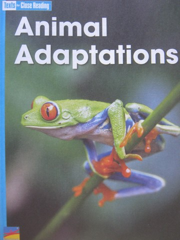 Texts for Close Reading 3 Animal Adaptations (P) by Fuerst
