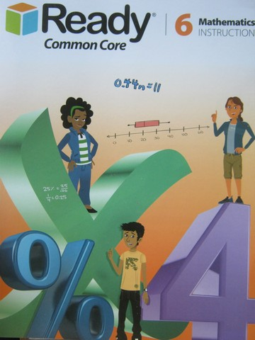 Ready Common Core 6 Mathematics Instruction (P) by Berkin,