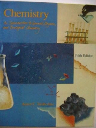 Chemistry 5th Edition (H) by Karen C Timberlake