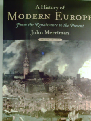 A History of Modern Europe 2nd Edition (P) by Merriman