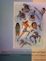 Adapted Physical Activity Recreation & Sport 5th Edition (H)