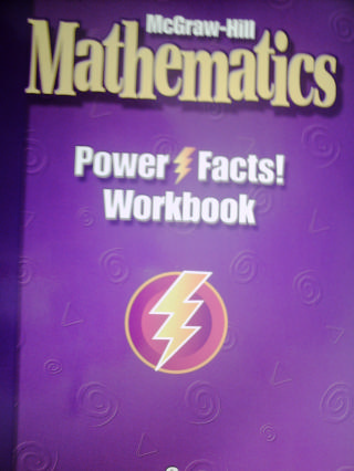 McGraw-Hill Mathematics 6 Power Facts! Workbook (P)