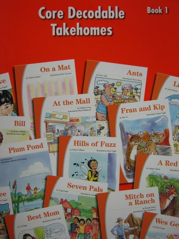 SRA Imagine It! 1 Core Decodable Takehomes Book 1 (P)