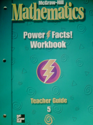 McGraw-Hill Mathematics 5 Power Facts! Workbook TG (TE)(P)