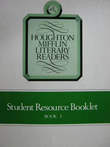 Literary Readers 3 Student Resource Booklet (P) by Durr,
