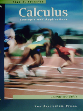 Calculus Concepts & Applications 2nd Edition IG (TE)(P)