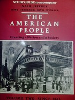 American People V 2 Since 1865 Study Guide (P) by Jeffrey,