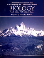 Biology 4th Edition Laboratory Resource Guide (P) by Kilborn