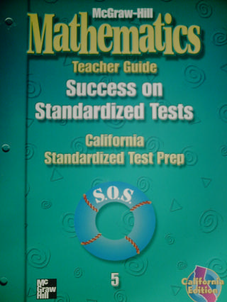 McGraw-Hill Mathematics 5 Success on Standardized Test TG (CA)(P