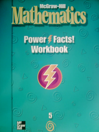 McGraw-Hill Mathematics 5 Power Facts! Workbook (P)