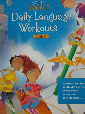 Write Source 5 Daily Language Workouts (Spiral) by Kemper,