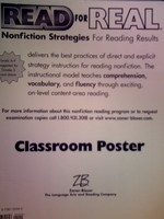 Read for Real Classroom Poster (Pk)