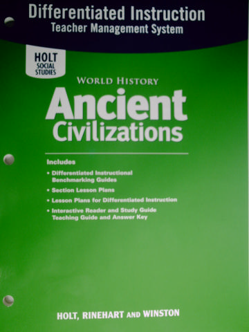 Ancient Civilizations Differentiated Instruction (TE)(P)